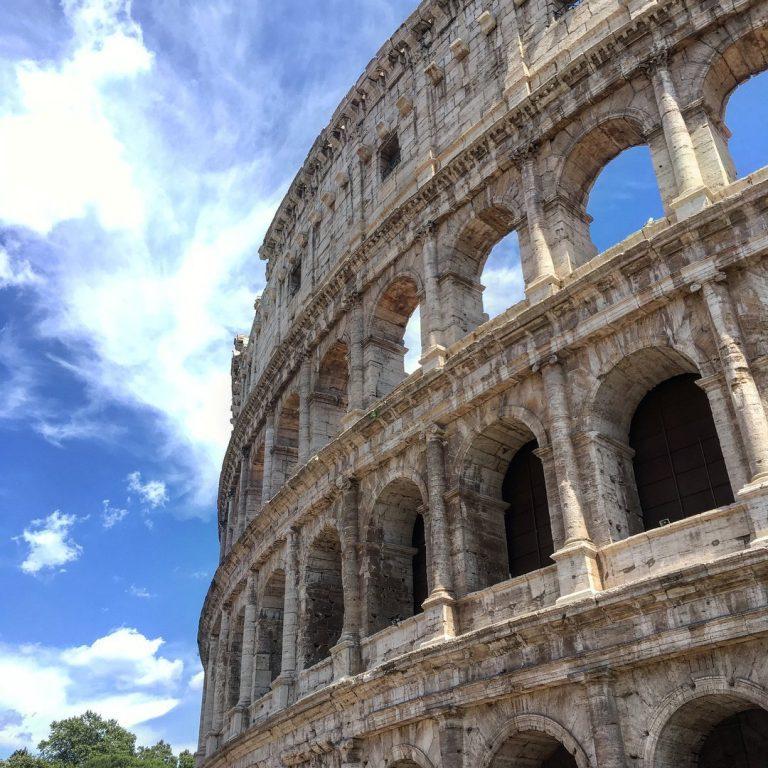 Particolare delle arcate del Colosseo