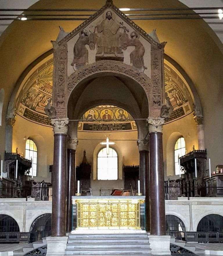 Altare d'oro e Ciborio della basilica di Sant'Ambrogio a Milano