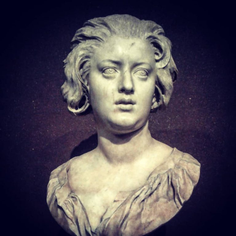 Il busto di Costanza Bonarelli