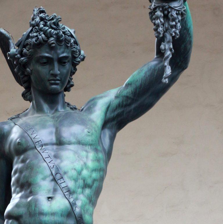 La statua del Perseo di Benvenuto Cellini