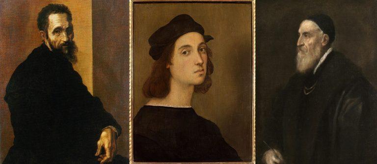 Michelangelo Raffaello e Tiziano