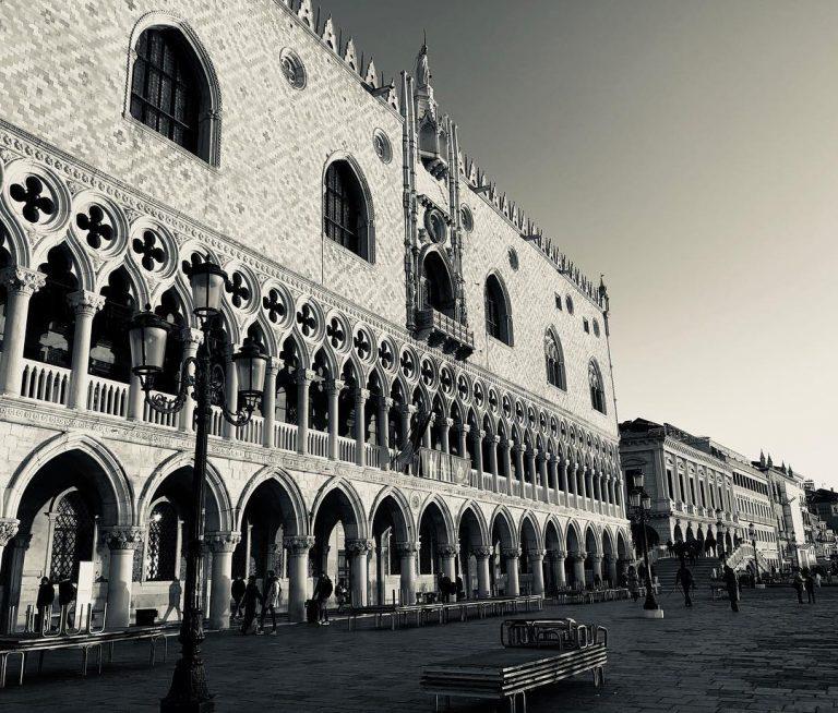 Particolare del Palazzo Ducale a Venezia