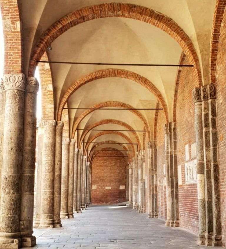 Basilica Sant'Ambrogio Milano volta a crociera