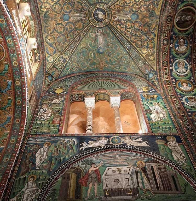 I Mosaici della Basilica di San Vitale a Ravenna
