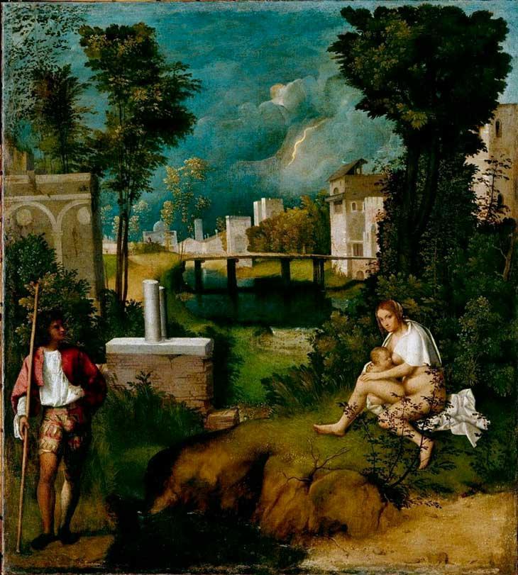 La Tempesta di Giorgione 1