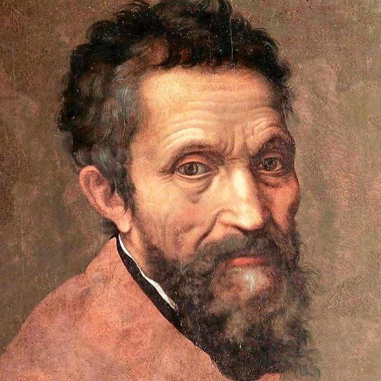 Ritratto di Michelangelo opera di Daniele da Volterra