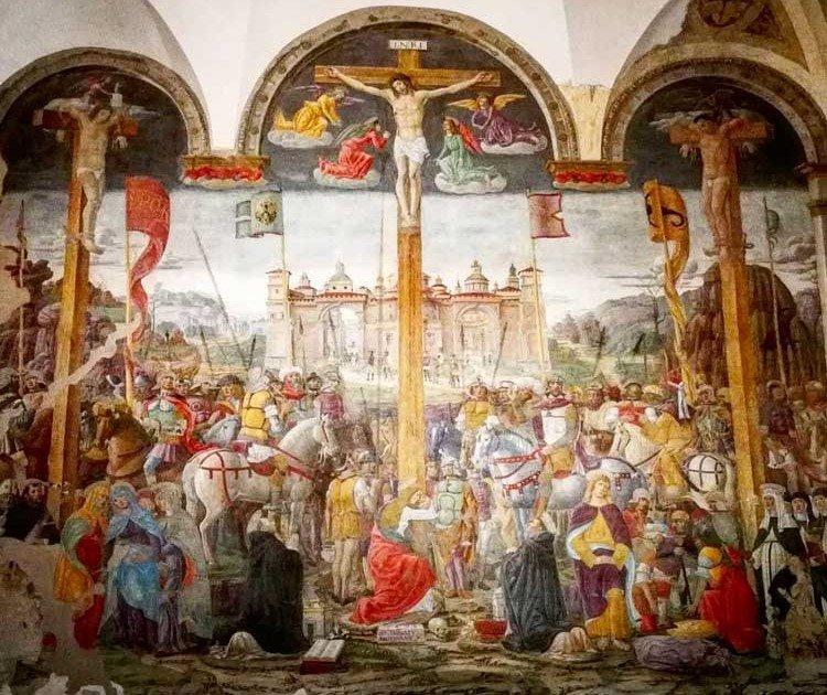 Crocifissione di Cristo di Donato Montorfano