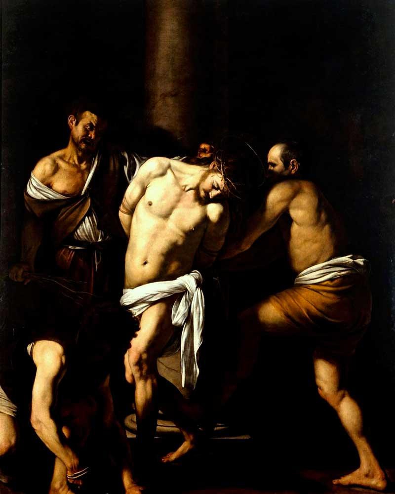 Flagellazione di Cristo opera del Caravaggio