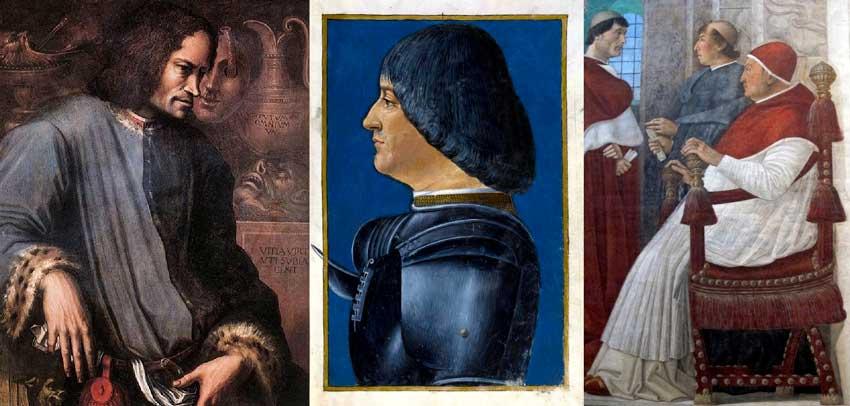 Lorenzo il Magnifico Ludovico il Moro e Sisto IV