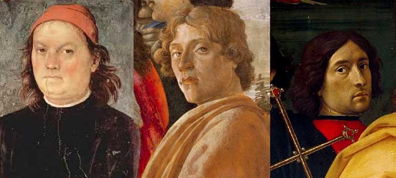 Puerugino Sandro Botticelli e Domenico Ghirlandaio