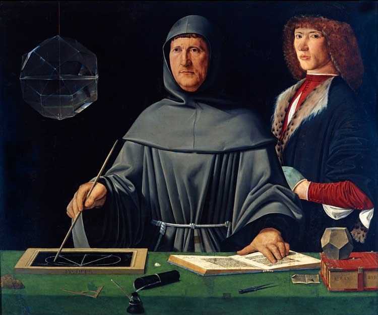 Ritratto di fra Luca Pacioli