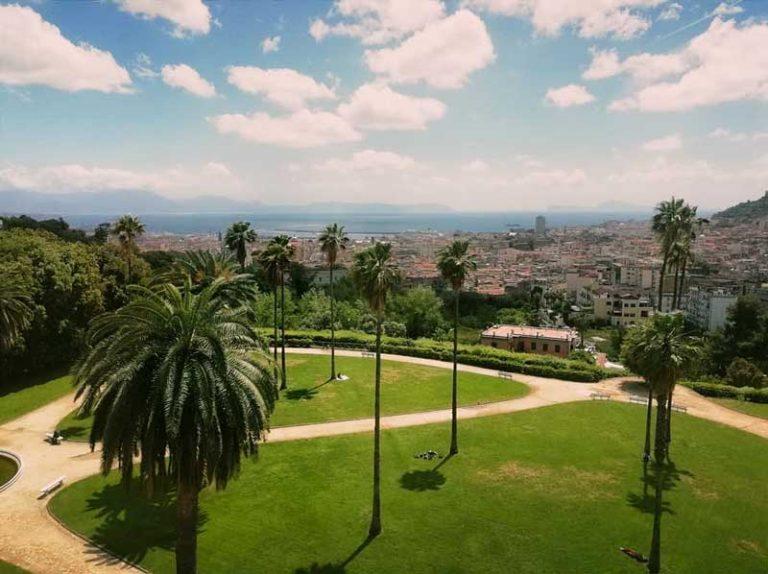 Vista di Napoli dalla Reggia di Capodimonte