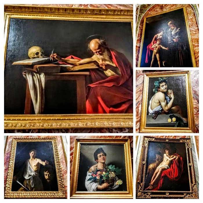 quadri di caravaggio