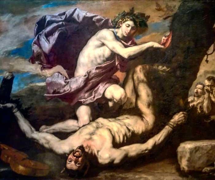 apollo e marsia jusepe de ribera lo spagnoletto