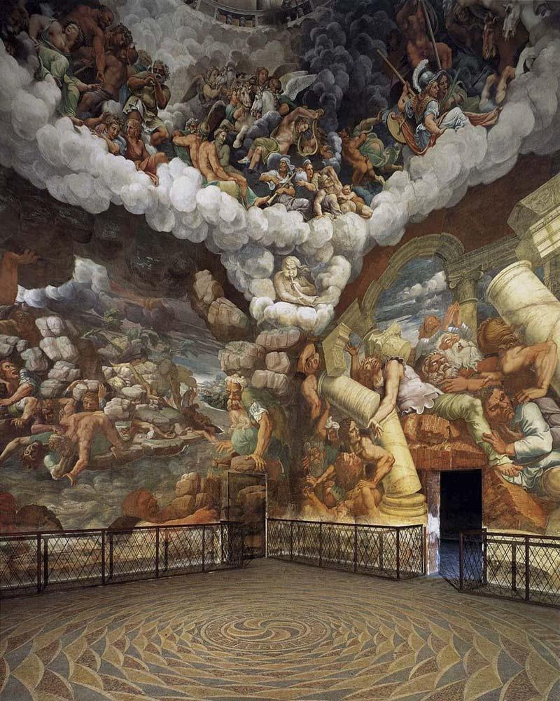 Camera Dei Giganti particolare