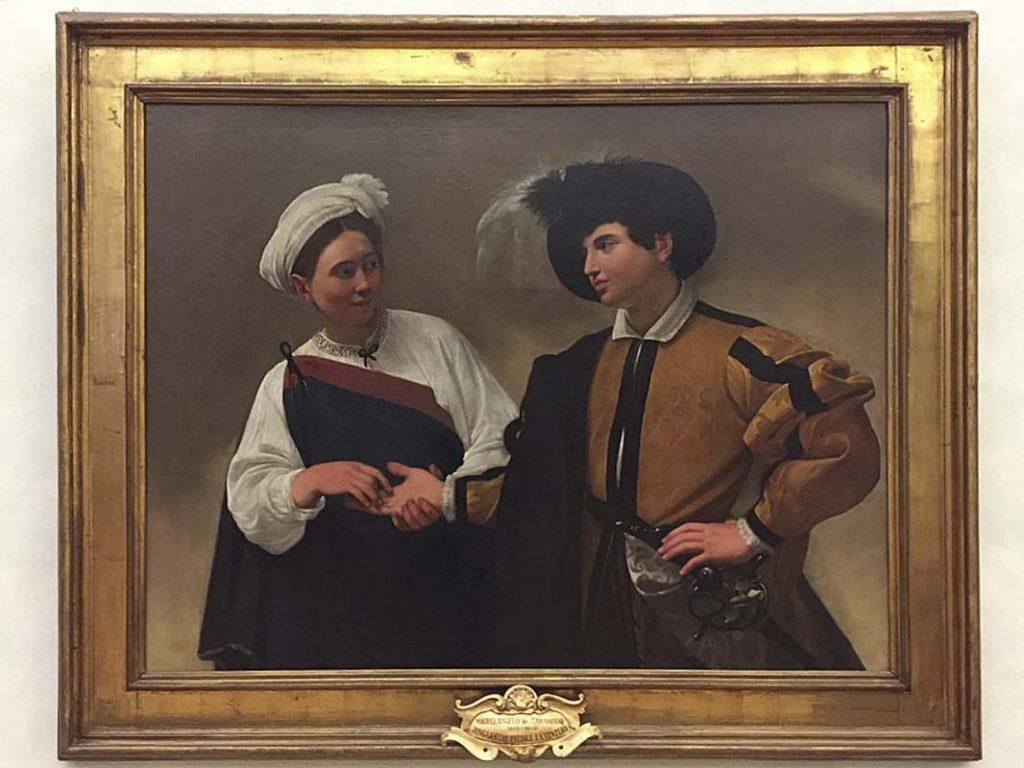 la Buona Ventura di Caravaggio