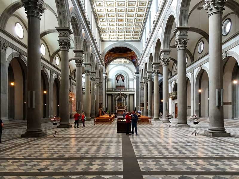 basilica san lorenzo interno