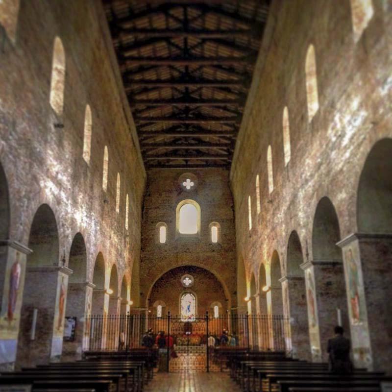 chiesa abbaziale tre fontane