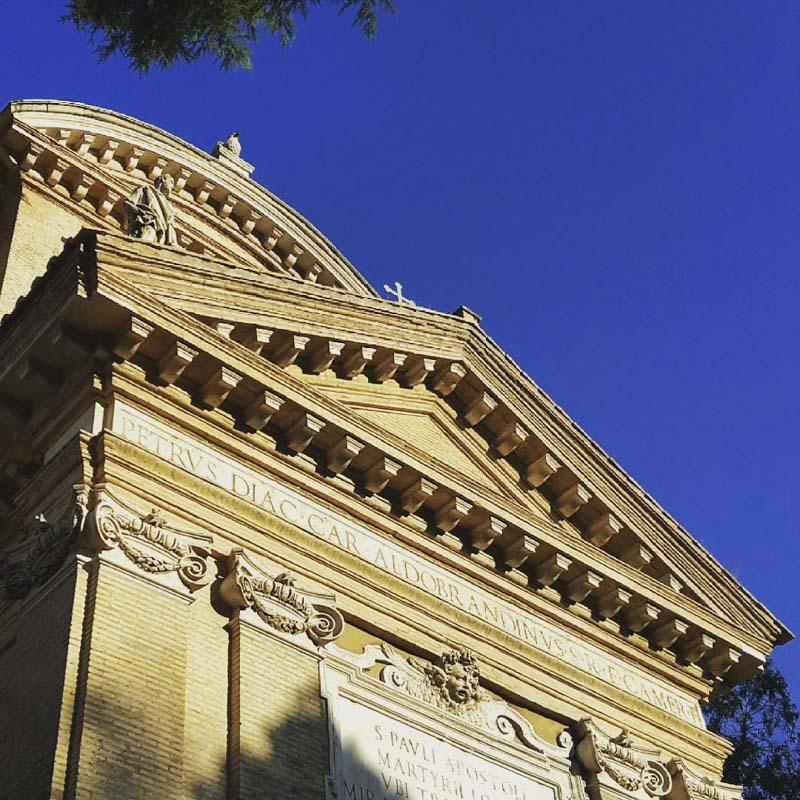 chiesa martirio san paolo