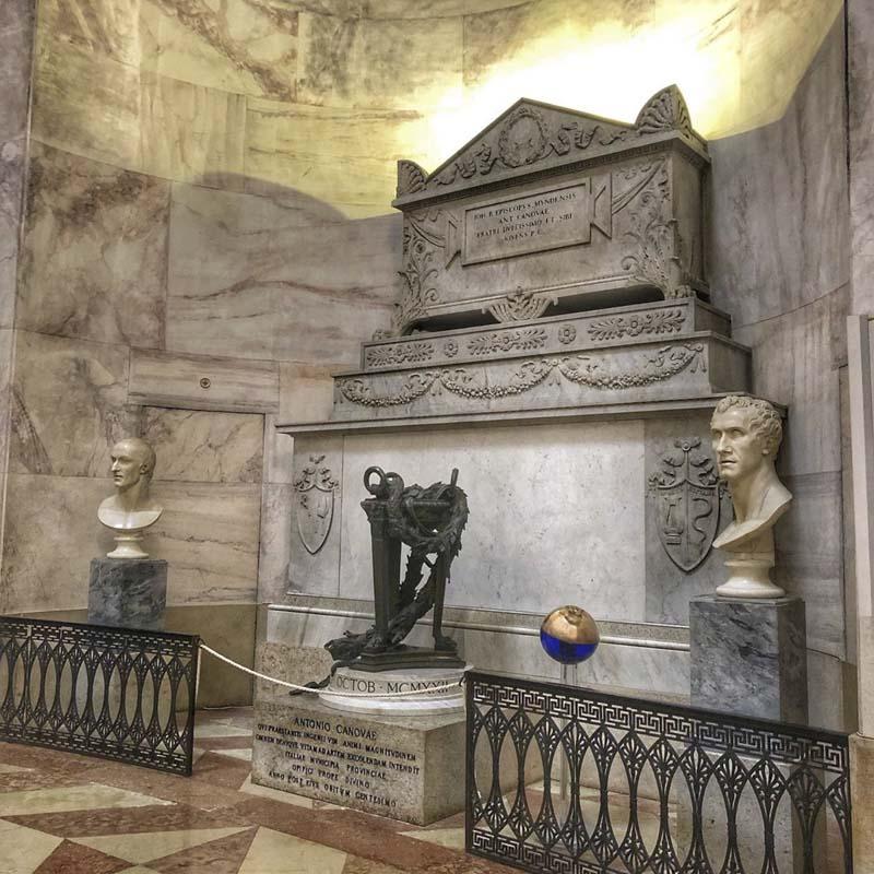 monumento funebre canova possagno