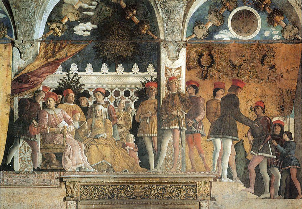 Andrea Mantegna   Camera picta la corte 01