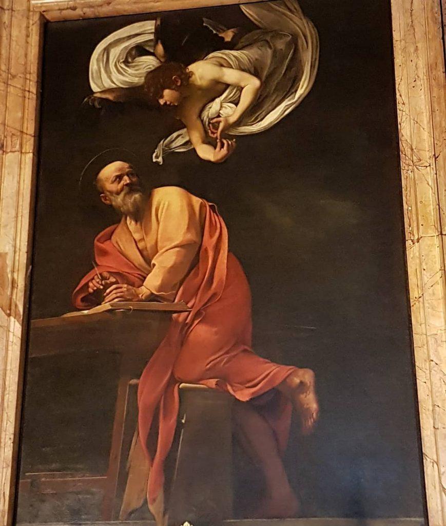 opere di caravaggio a roma