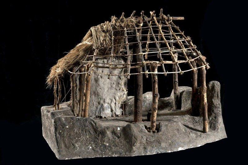 casa romuli capanna di romolo palatino