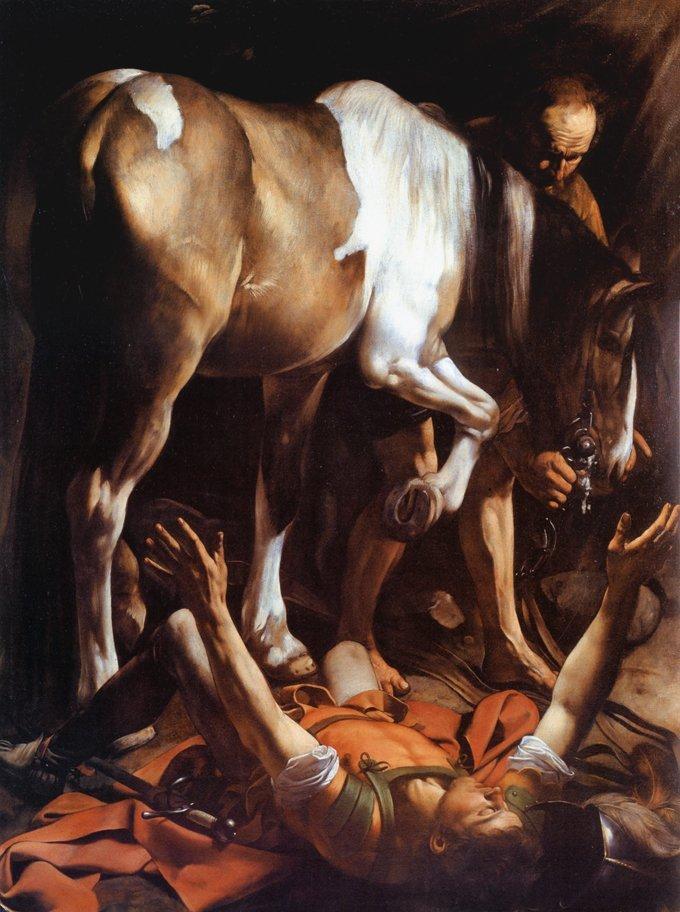 Caravaggio La conversione di San Paolo