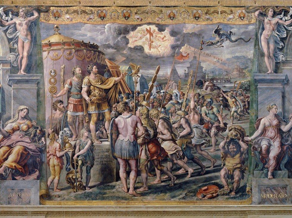 Apparizione della croce Vaticano