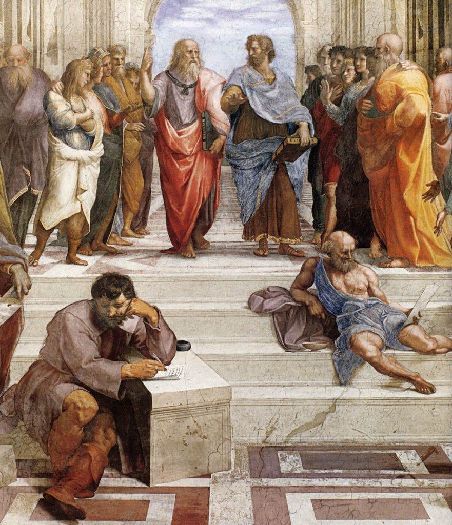 raffaello sanzio il pittore divino scuola di atene