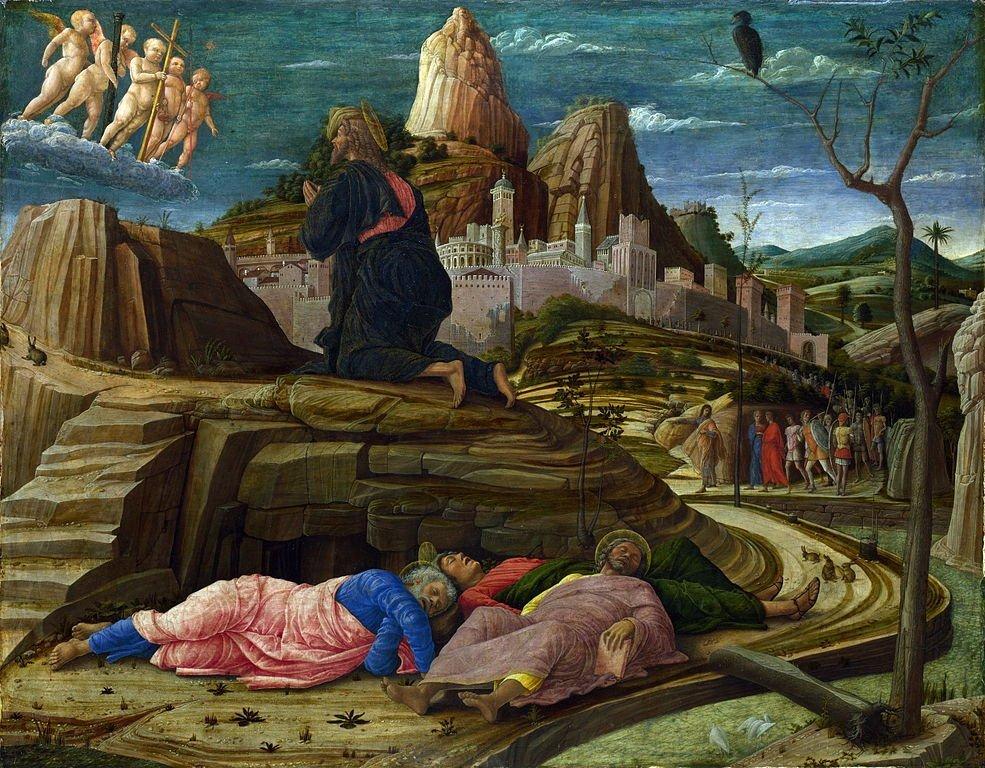 Orazione nellorto Andrea Mantegna