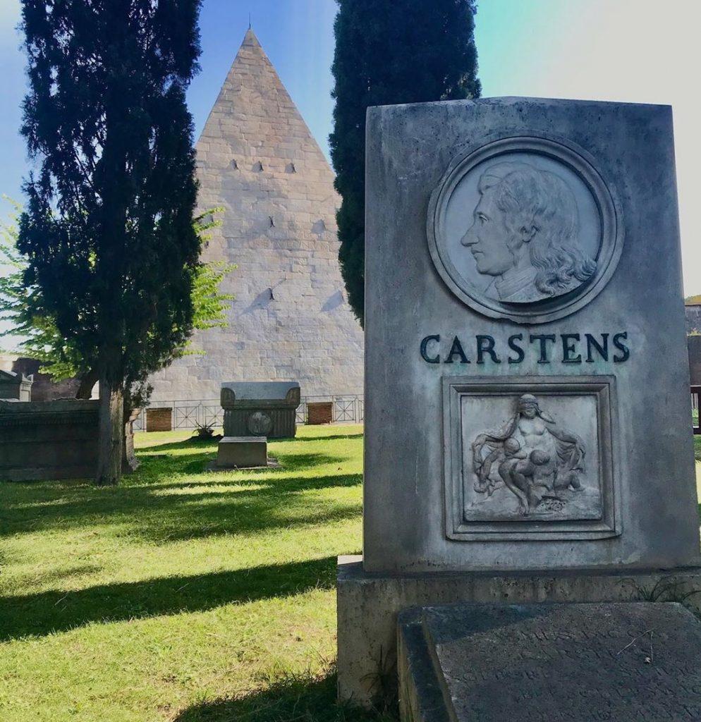 cimitero Acattolico roma parte antica