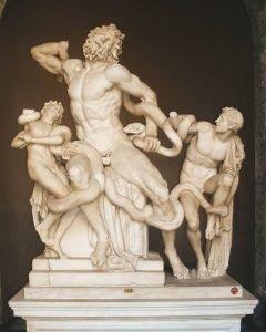 il Laocoonte dei Musei Vaticani