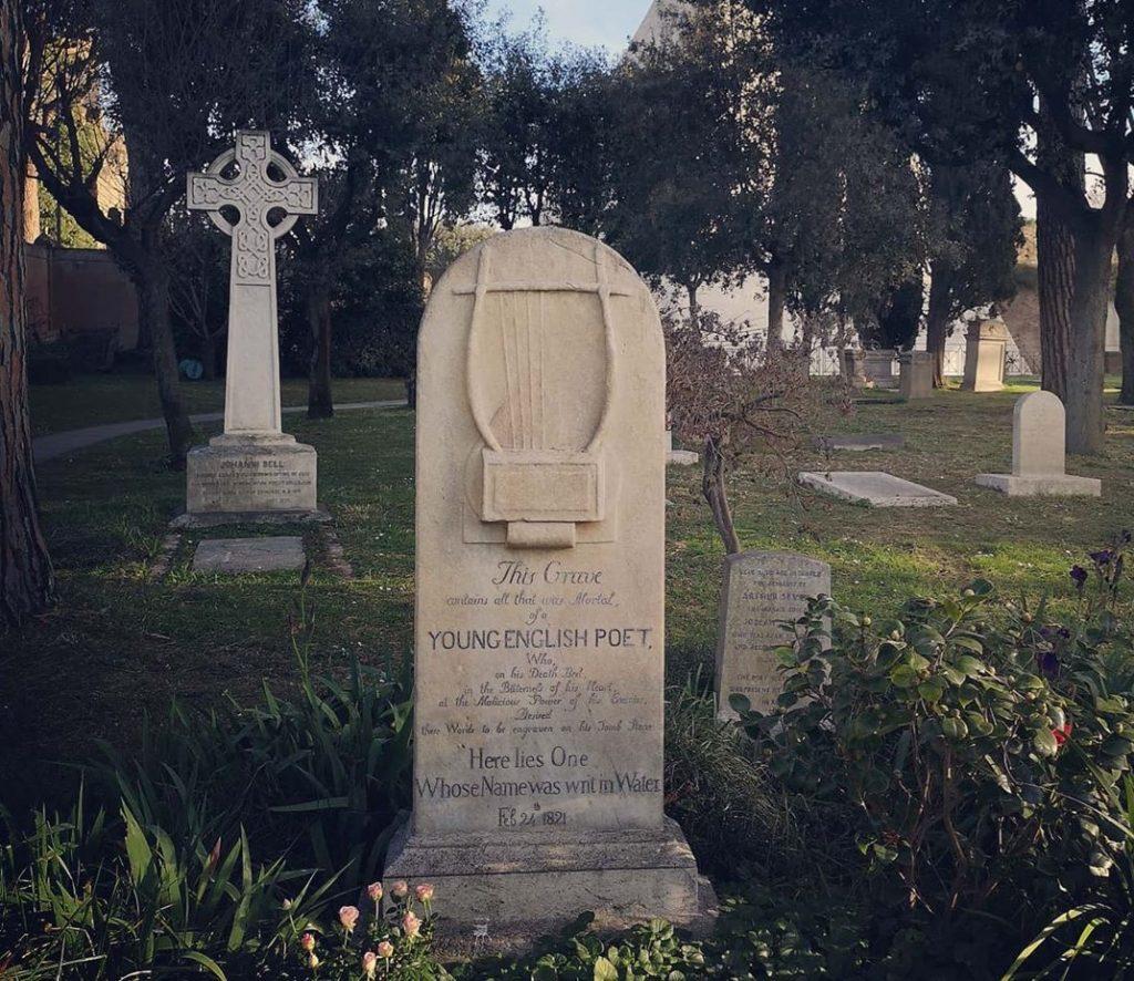 tomba keats