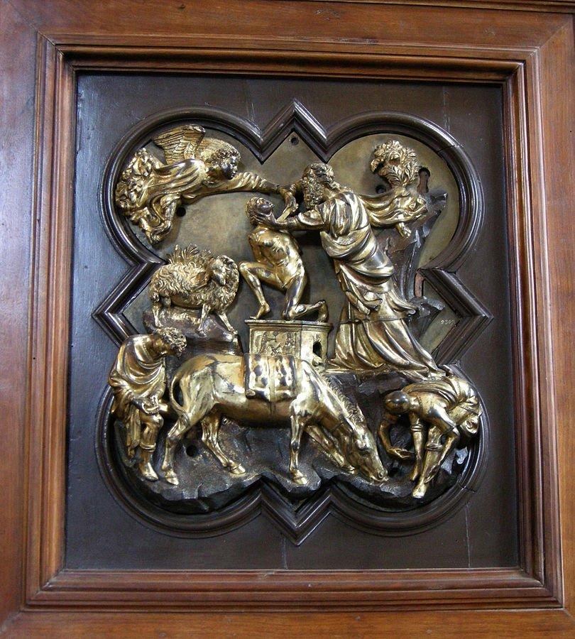 Brunelleschi sacrificio di Isacco