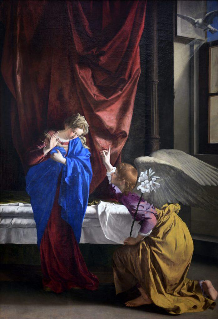 Annunciazione Orazio Gentileschi