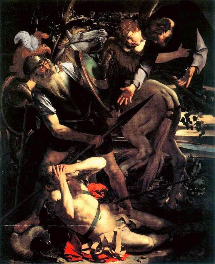Caravaggio Conversione di San Paolo Odescalchi