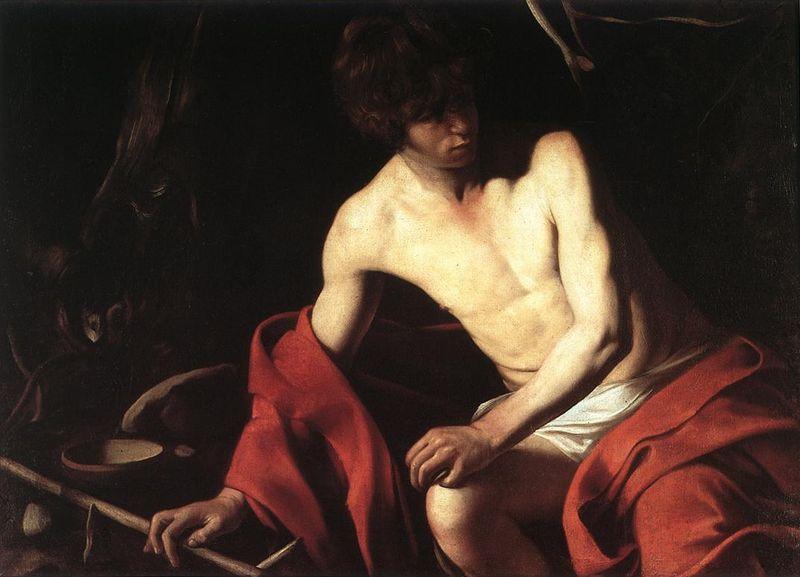 Caravaggio Baptist Galleria Nazionale dArte Antica Rome
