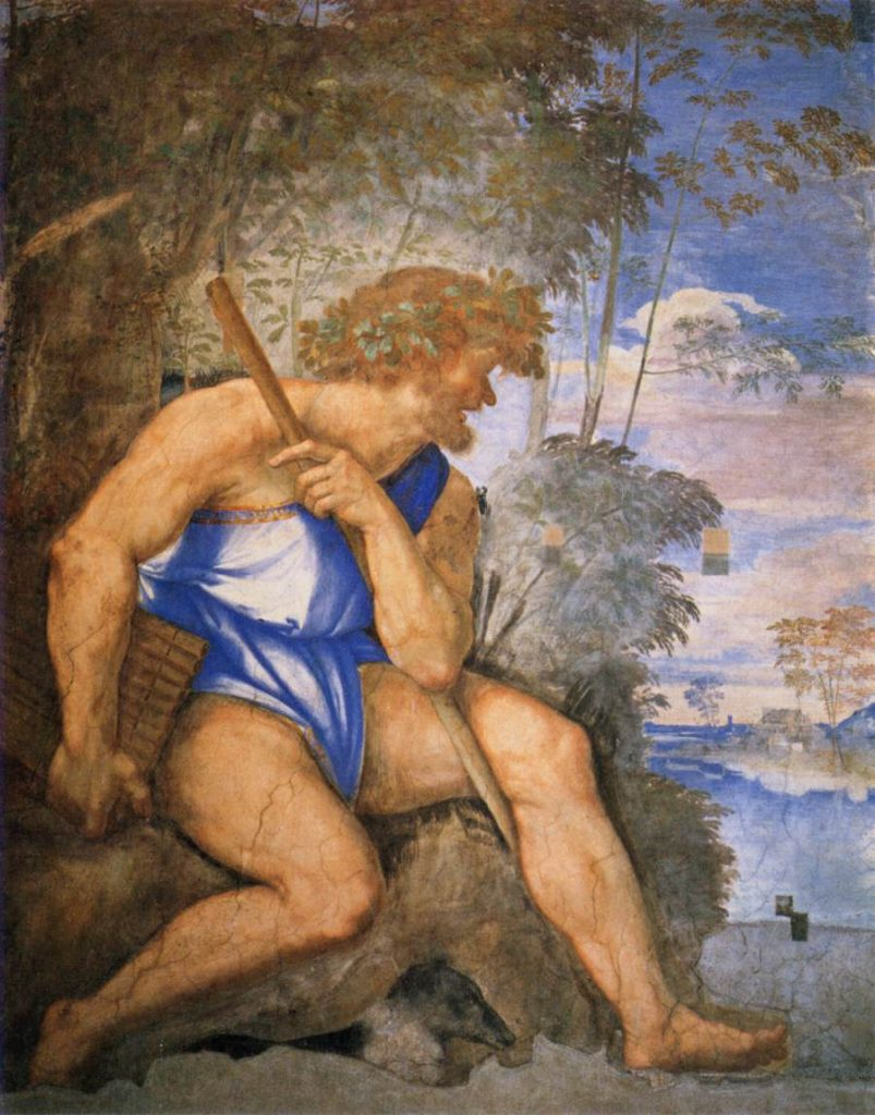 Sebastiano del piombo polifemo