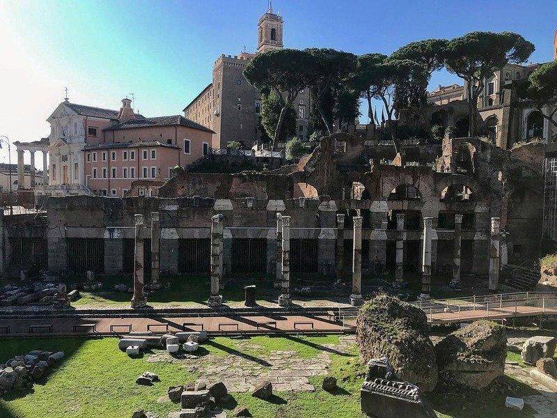 resti Foro di Cesare Roma
