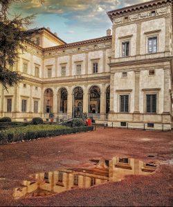 """<span class=""""entry-title-primary"""">La Villa Farnesina di Roma</span> <span class=""""entry-subtitle"""">Agostino Chigi e Raffaello Sanzio: un'alleanza per l'arte</span>"""