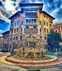 """<span class=""""entry-title-primary"""">Il quartiere Coppedè a Roma</span> <span class=""""entry-subtitle"""">Storia e misteri di un luogo incantato</span>"""