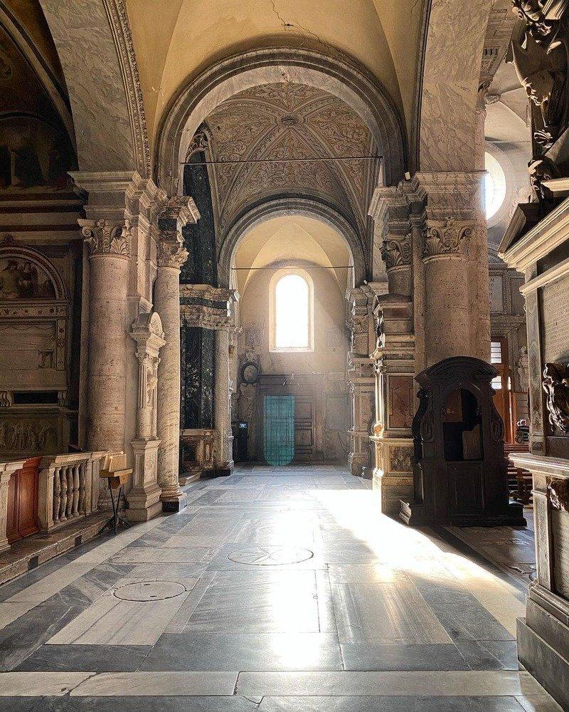 chiesa Santa maria Del popolo interno
