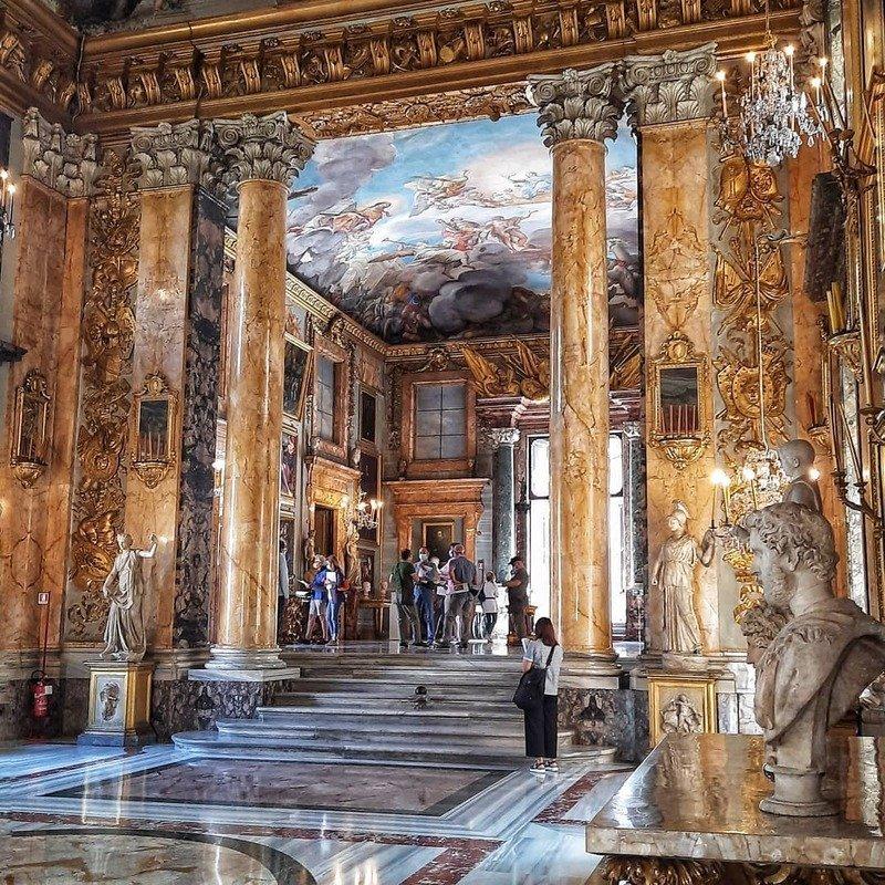 galleria colonna roma sala