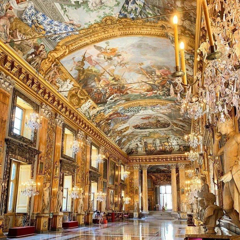 galleria colonna roma sala grande