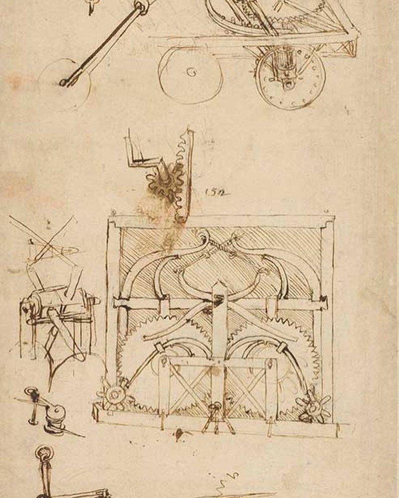 leonardo Da vinci pinacoteca Ambrosiana