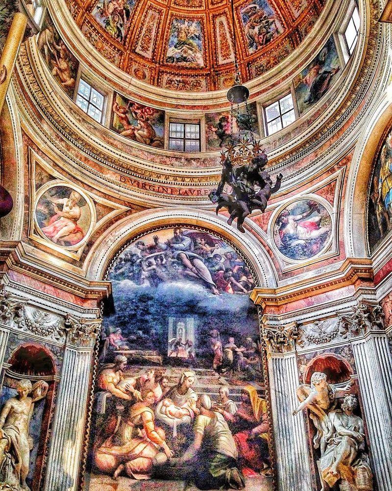 chiesa santa maria del popolo roma cappella chigi