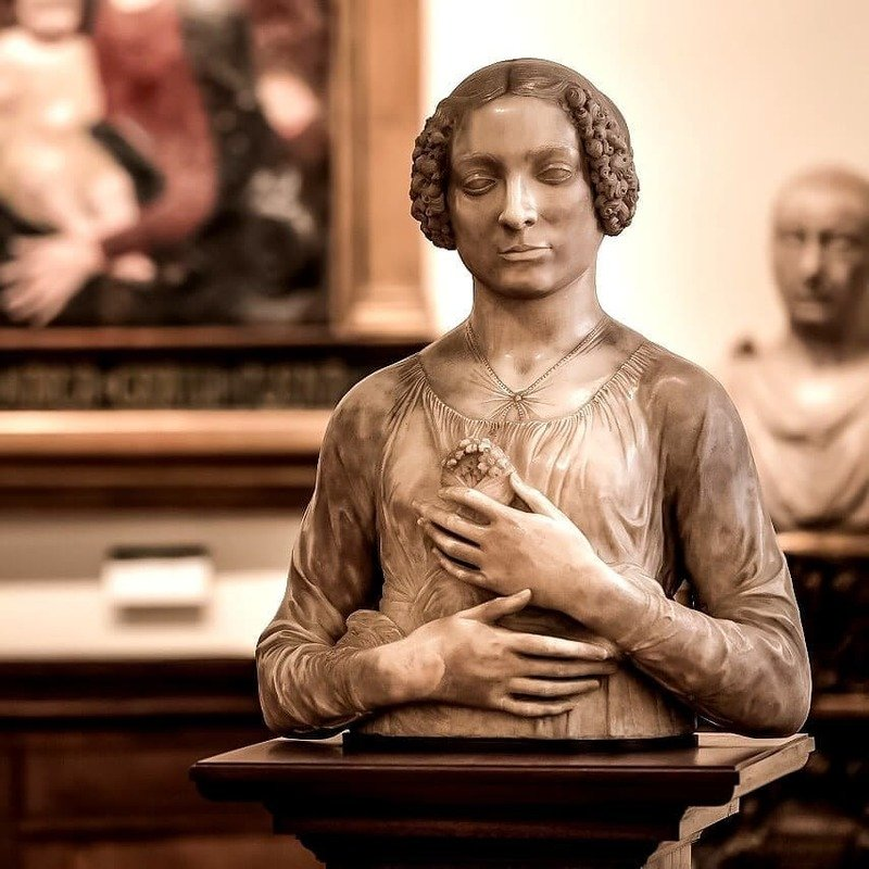 museo bargello firenze dama mazzolino