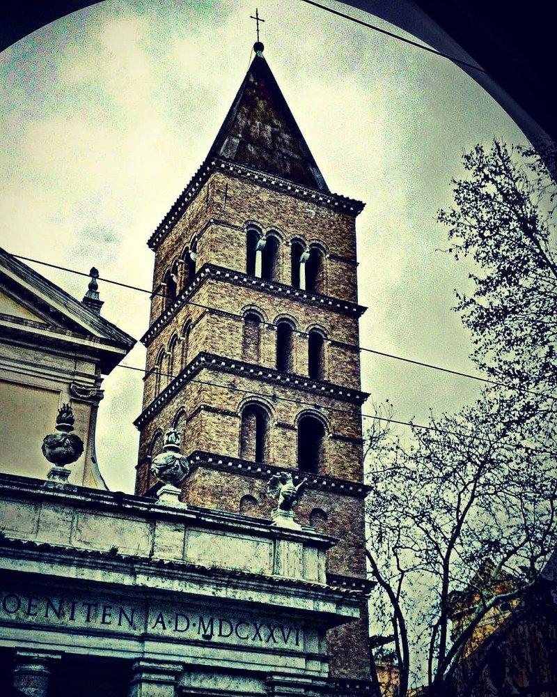 basilica San Crisogono campanile