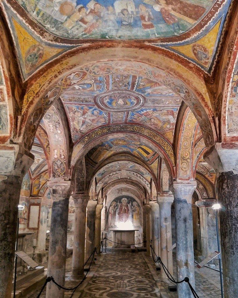 cattedrale anagni cripta